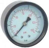 Manometru D50 rac axial 6bar